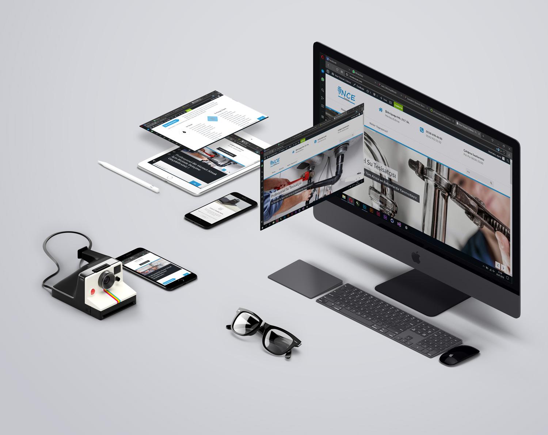 ince tesisat web sitesi tasarım & SEO