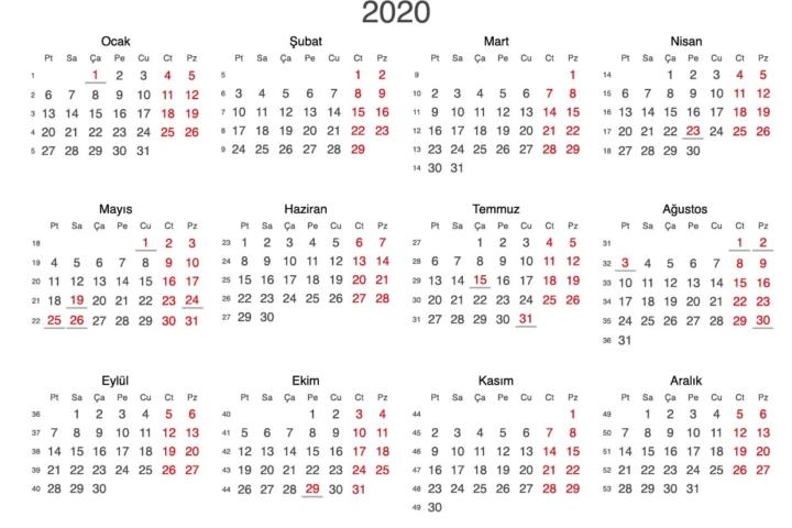 2020 takvimi vektörel-01